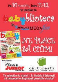 Babyblioteca - o întâlnire cu poveştile - 10 martie 2012