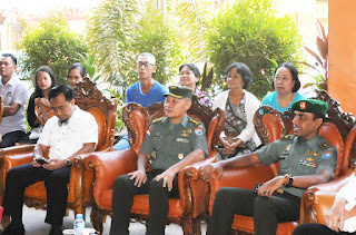 Kakesdam XII/Tpr Hadiri Bhakti Sosial Yayasan Makmur