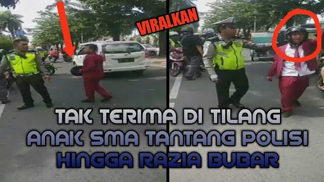 Viral Siswa SMK di Medan Ngamuk Saat Ditilang Polisi, Begini Ceritanya
