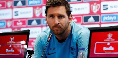 Messi rueda de prensa copa del rey palabras noticia