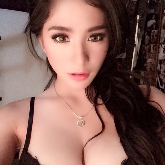 kumpulan foto sexy bibie julius jadi spg   model sexy