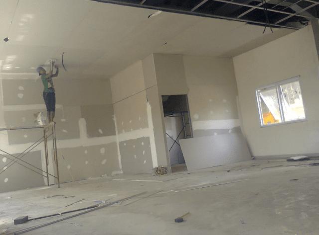 Gypsum Board Untuk Dinding dan Plafon