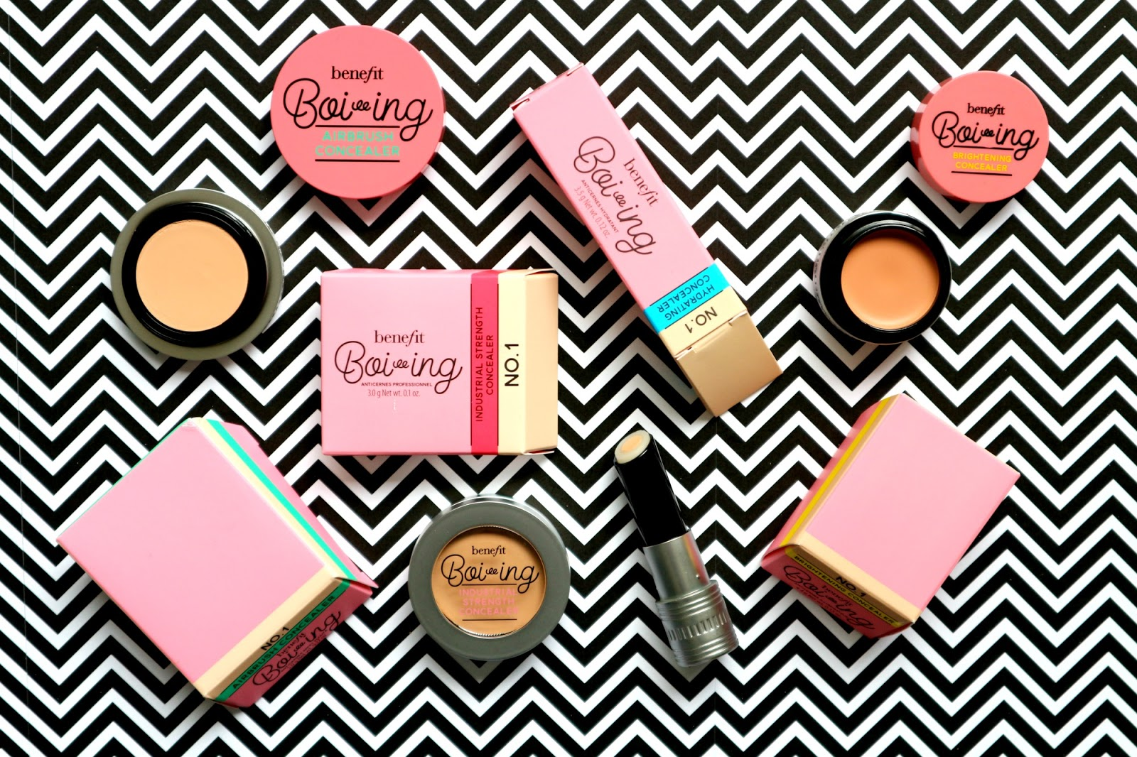 Benefit Boi-ing Concealer Collection Review