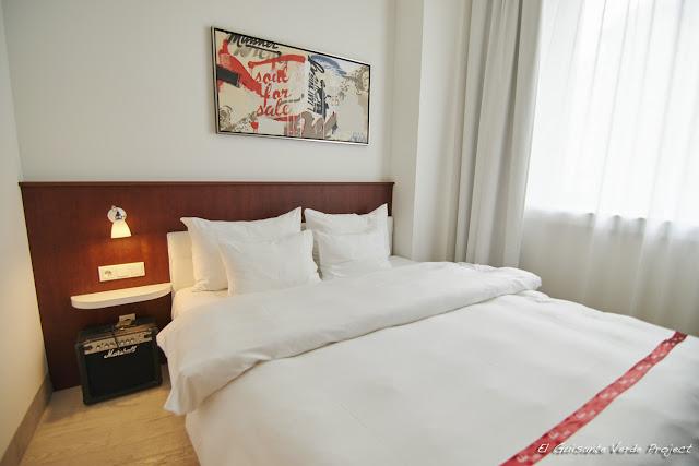 Habitación del Hotel Ruby Marie - Viena por El Guisante Verde Project