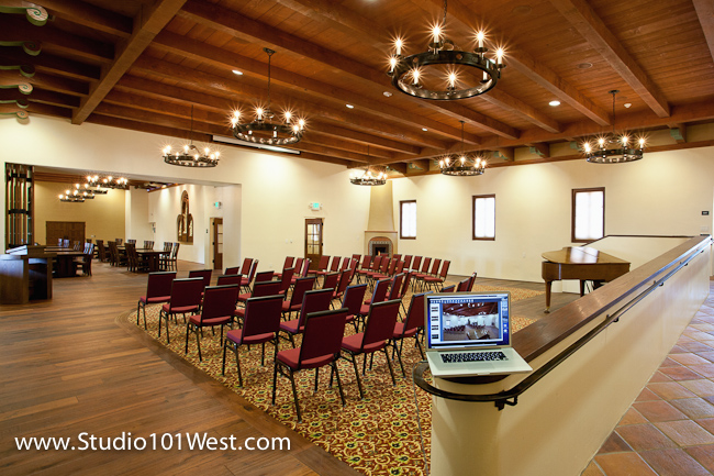 San Luis Obispo Mission Architecture Photographer, Interior photographer,