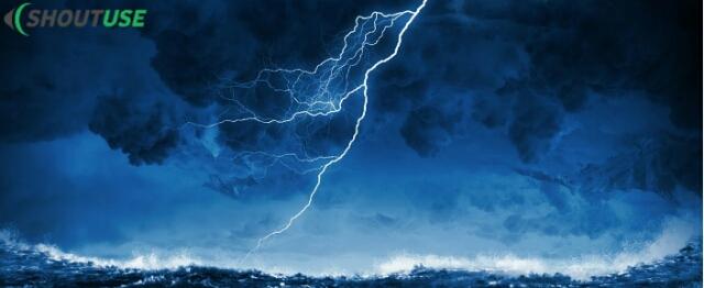 आसमान में बिजली क्यों चमकती है ?, Vigyan ke sawal shoutuse