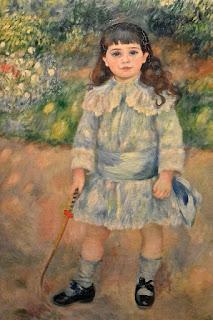 Auguste Renoir : fillette au fouet Saint Pétersbourg musée de l'Ermitage 2 Etat-Major en face du palais d'Hiver