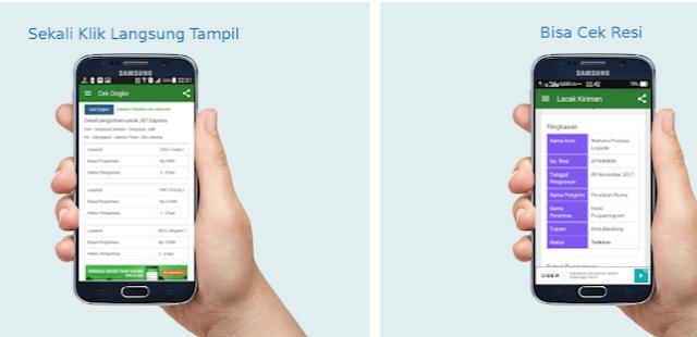 Aplikasi Melacak Pengiriman Barang Untuk Smartphone Android