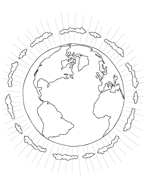 Information world: Earth Day Coloring Pages 2012