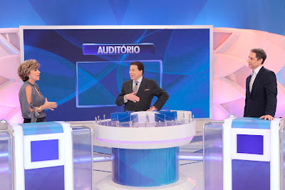 Silvia, Silvio e Luís (Crédito: Lourival Ribeiro/SBT)