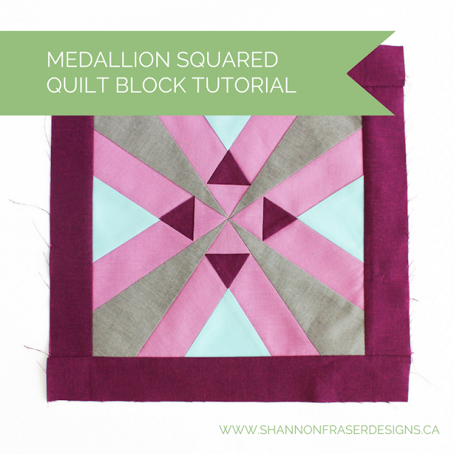 Best of 2016 | Medallion Squared Quilt Block Pattern | Modern Quilting | Shannon Fraser Designs