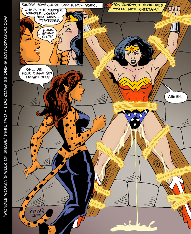 Wonder Woman Adult Stories