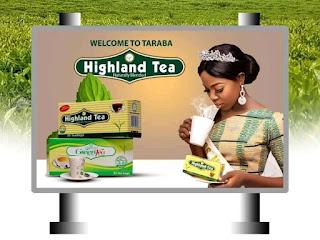Miss Mumuye Nigeria Hrm. Queen Wuzan Buta Dogara Bagged Endorsement Deal With Highland Tea Nigeria