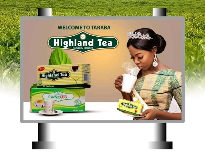Miss Mumuye Nigeria Hrm. Queen Wuzan Buta Dogara Bagged Endorsement Deal With Highland Tea