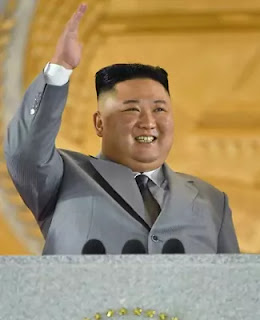 Kim Jong Un speech at military parade October 10, 2020
