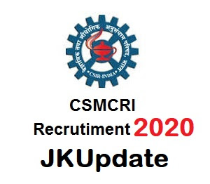 Tags :- CSMCRI Recruitment 2020, csmcri recruitment 2020 for project associate, csir csmcri recruitment 2020,