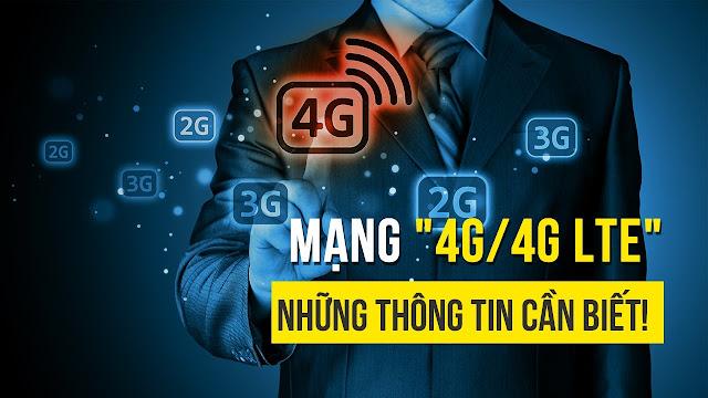 Mạng 4G là gì? 4G LTE là gì? Hướng dẫn cách mở 4G trên iPhone