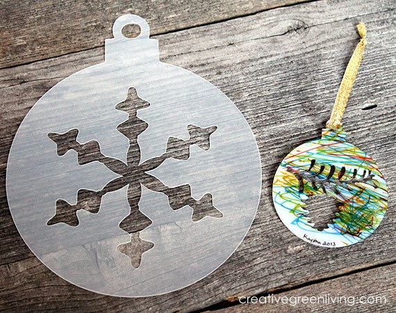 How To Make Shrink Paper Christmas Ornaments Creative