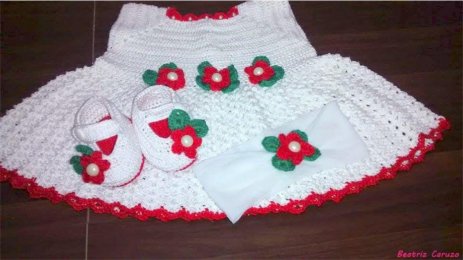 Beatriz Caruzo Crochê   Conjunto em crochê Bruna vermelho 00d564737eb14