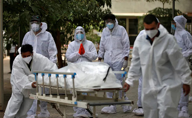 3.26 Lakh Fresh COVID-19 cases in India, 3,890 deaths in 24 hours