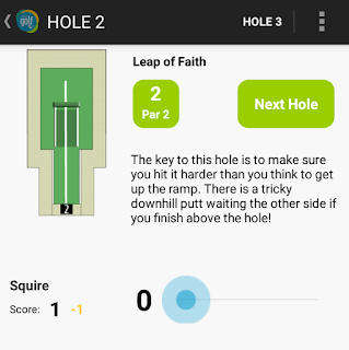 Mini Golf App for Hastings Adventure Golf