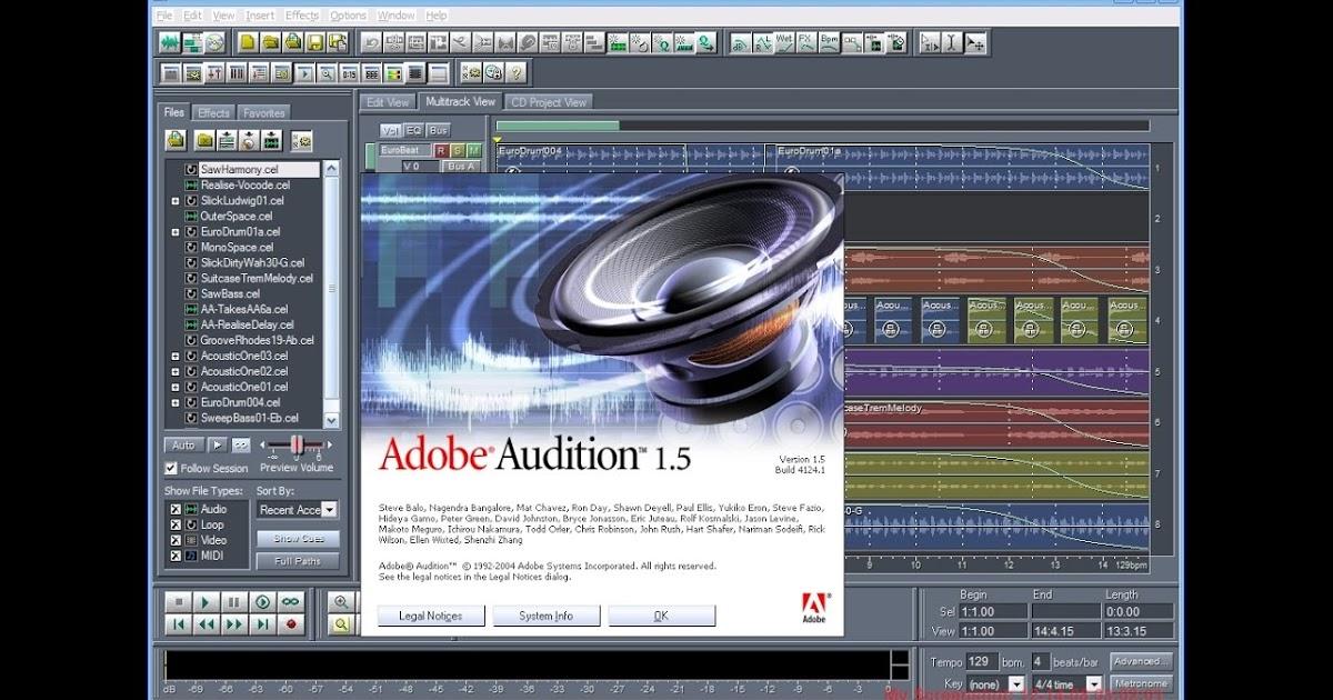 Tutorial Cara Install dan Download Adobe Audition 1.5