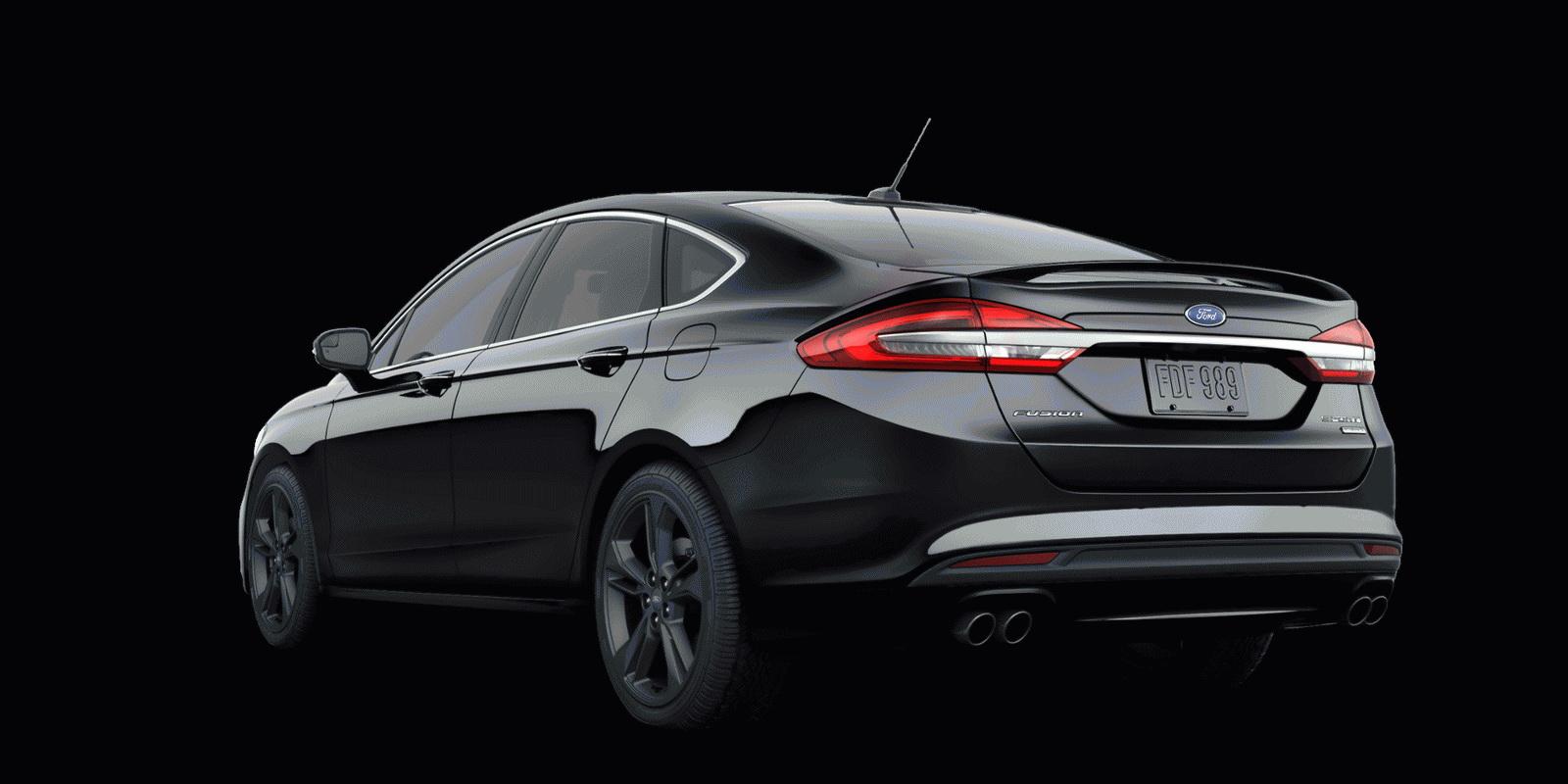 Ford Fusion Sport 2017 chính thức bán với giá $34.350