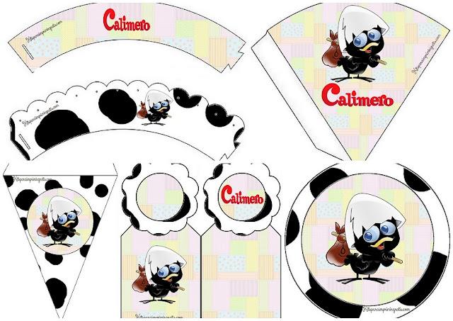 Kit de Calimero para Imprimir Gratis.
