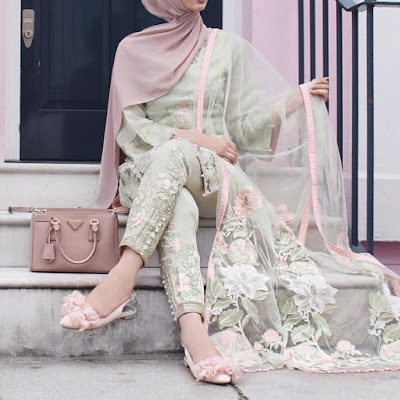 15 + Of Most Beautiful Hijab Fashion Outfits for Summer 2018
