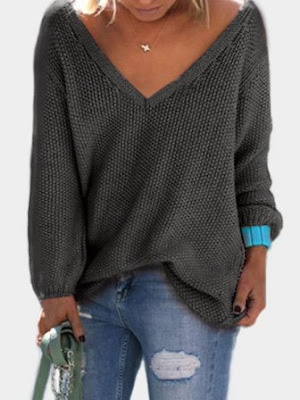 https://www.yoins.com/Dark-Grey-Classic-Design-Loose-Plunge-Sweater-p-1199605.html