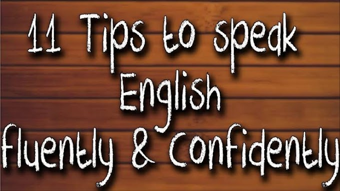 how to improve english speaking skills or fluency