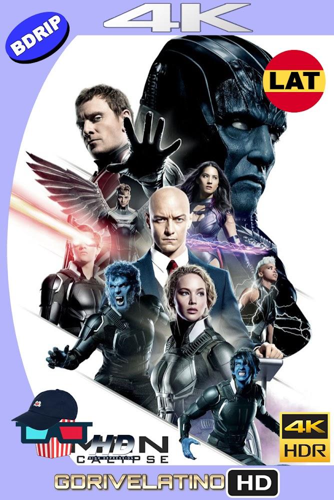 X-Men : Apocalipsis (2016) BDRip 4K HDR Latino-Ingles MKV