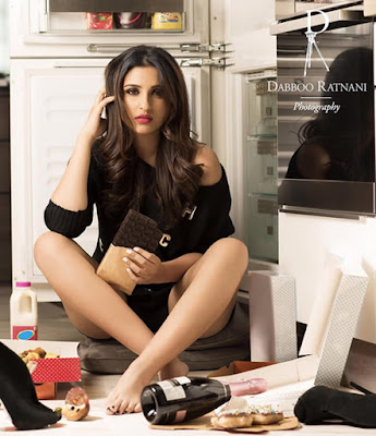 Parineeti Chopra shoot for Dabboo Ratnani 2016 Calendar