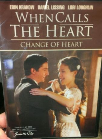 When Calls the Heart: Change of Heart  cover
