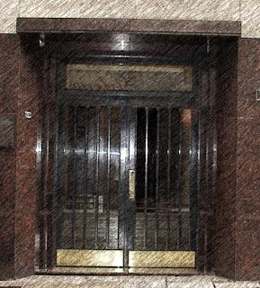 Entrada da Casa de Jorge Luis Borges, Buenos Aires