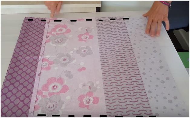 خطوات تفصيل و  خياطة غلاف وسادة - فرش المنزل