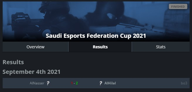 Finał Saudi Esports Federation Cup