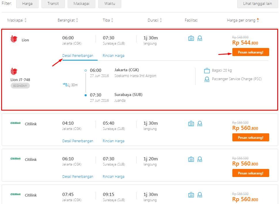 Cara Beli Tiket Pesawat Online Di Traveloka Lengkap Beserta Gambar Portabs