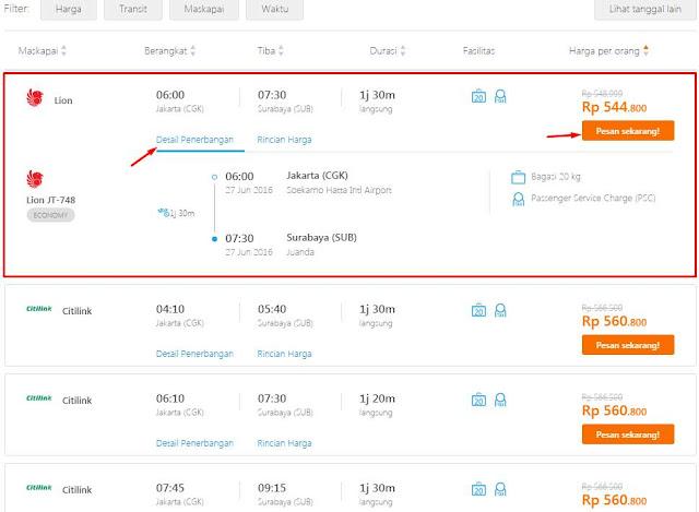 Cara Beli Tiket Pesawat Online di Traveloka