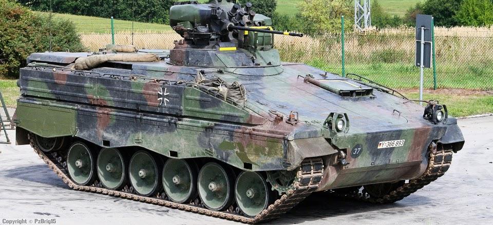 Бойовій машині піхоти Marder 50 років