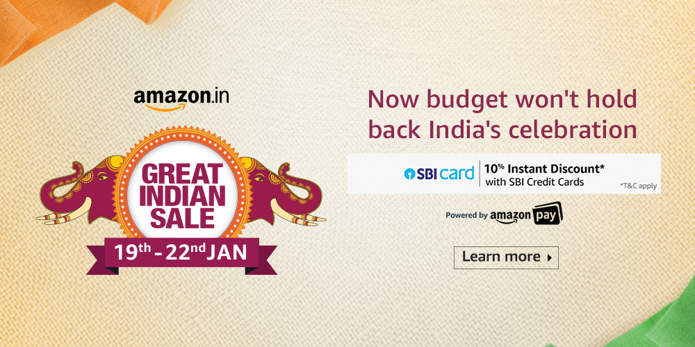 Amazon great Indian sale 2020 with best budget deal and sales