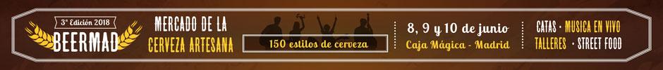 Beermad - El Mercado de la Cerveza Artesana en Madrid