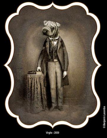 Benjamin Lacombe ilustración Perro