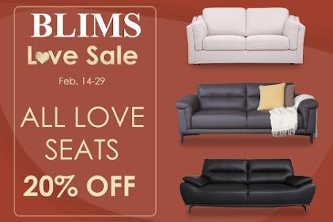 BLIMS LOVE SALE!