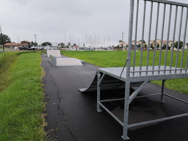 skatepark meschers sur gironde
