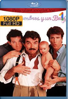 Tres hombres y un bebé (1987) [1080p BRrip] [Latino-Inglés] [LaPipiotaHD]