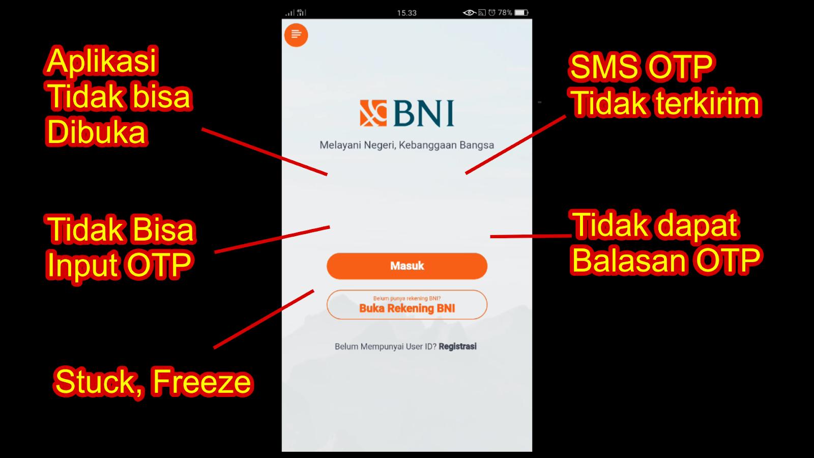 Beberapa Masalah Yang Sering Terjadi pada BNI Mobile ...