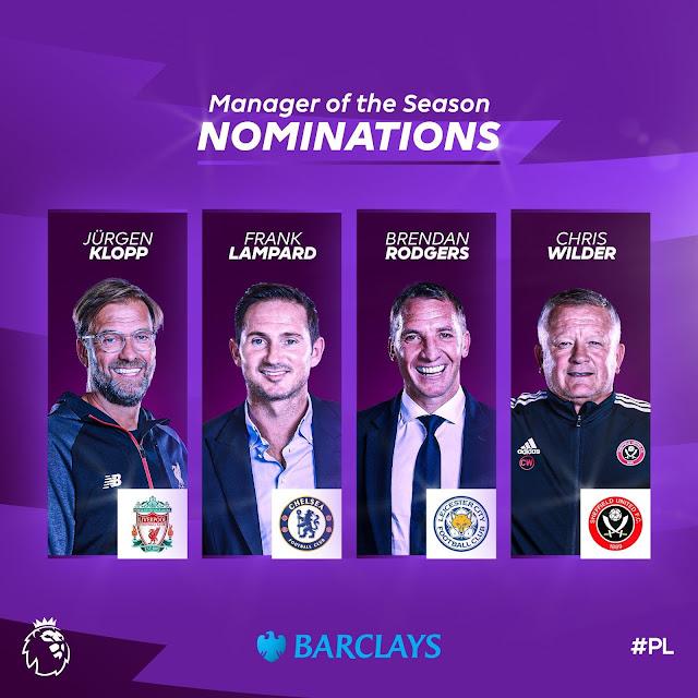 قائمة المرشحين لأففضل مدرب