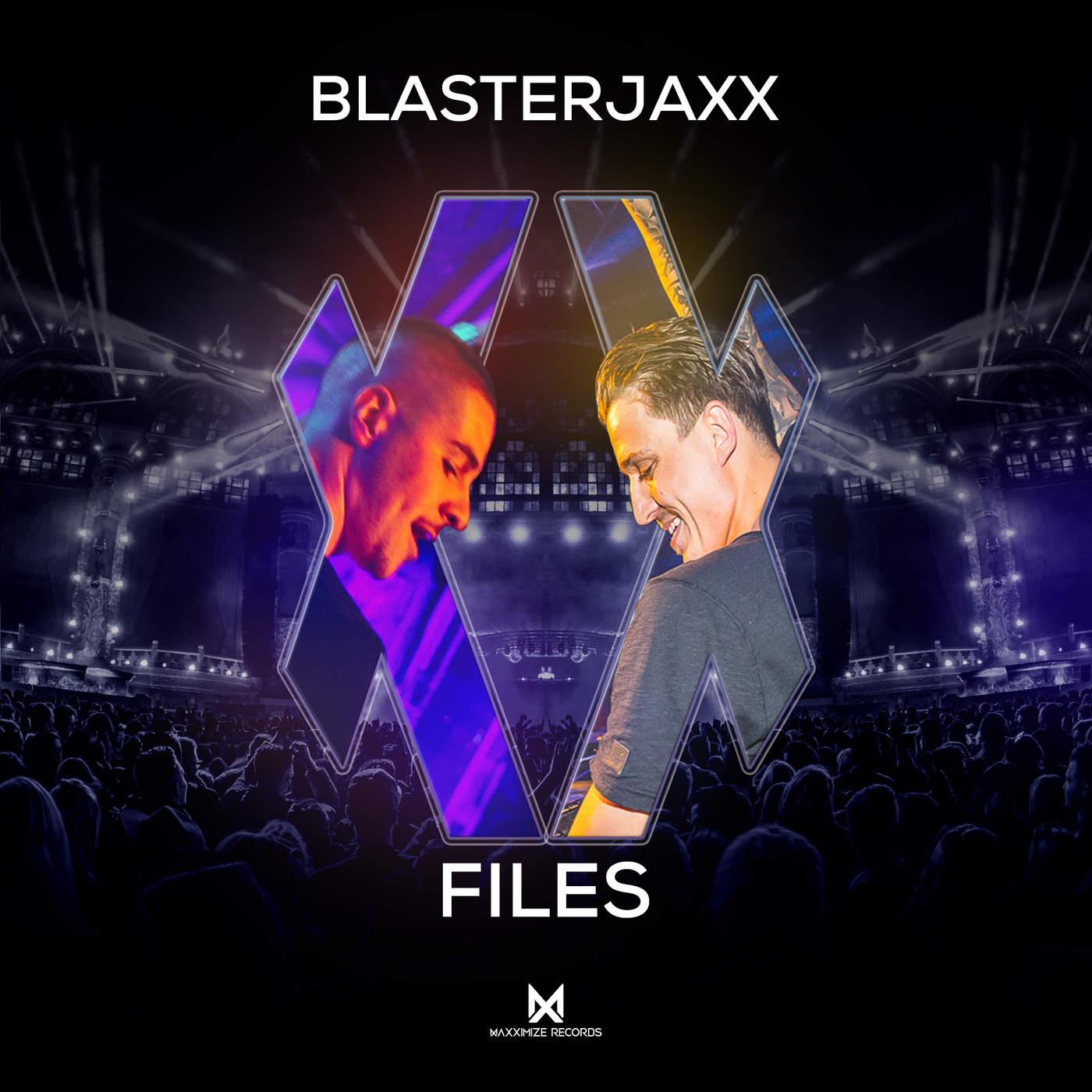 BlasterJaxx - XX Files - EP Cover