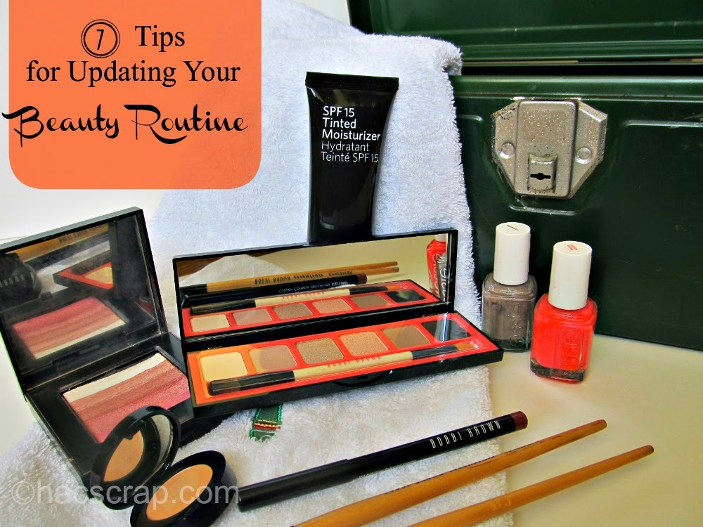 My Scraps | Spring Make-Up and Tools